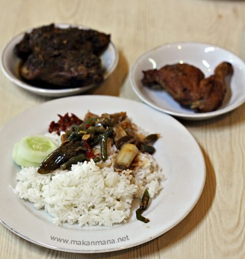 nasi campur Tip Top Restaurant, Lunch room, Bakery and Cake Shop