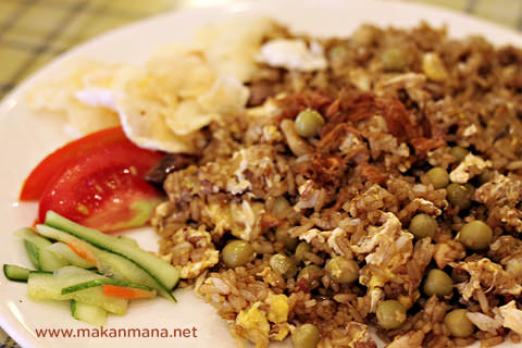 nasi goreng kacang buncis Tip Top Restaurant, Lunch room, Bakery and Cake Shop