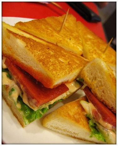 sandwich bakar