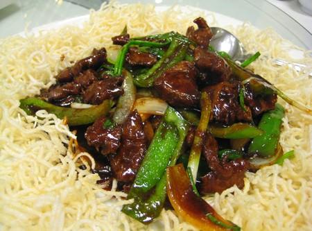 sapi tumis mongolia Cinyen Steamboat & Chinese Food
