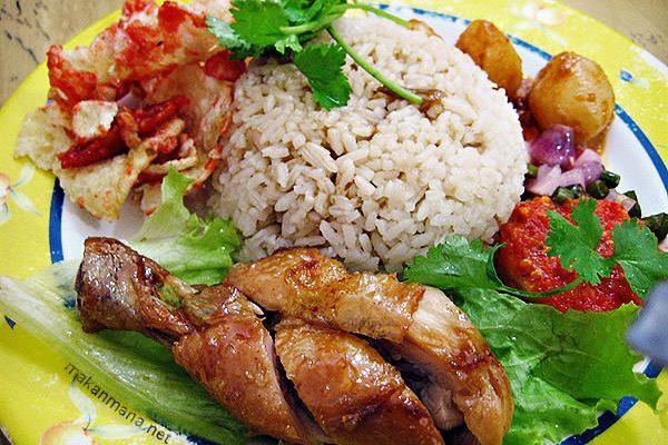 Nasi Ayam Istimewa 1