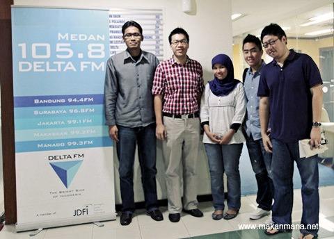 Makanmana.net goes to Delta FM 3