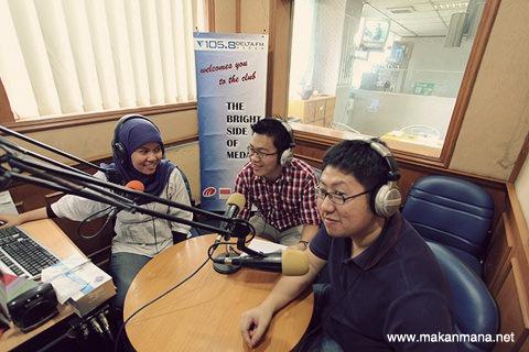 Makanmana.net goes to Delta FM 1
