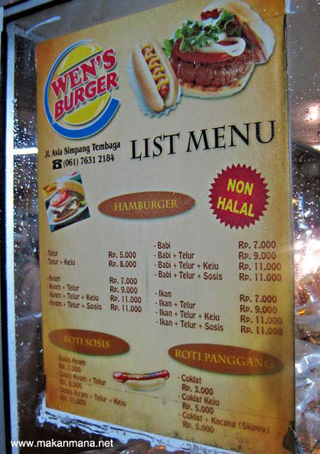 Wen's Burger, Jalan Asia 3
