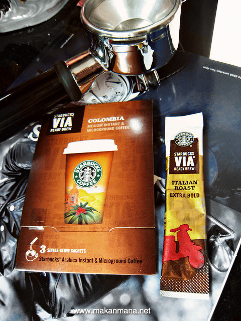 starbucks via sachet pack Starbucks Via