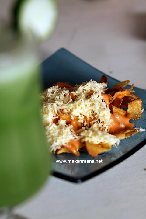 cheese potato skin Gardenia Tropical Garden Resto