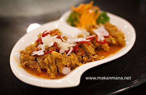 Ayam Goreng Saus Ala Thai