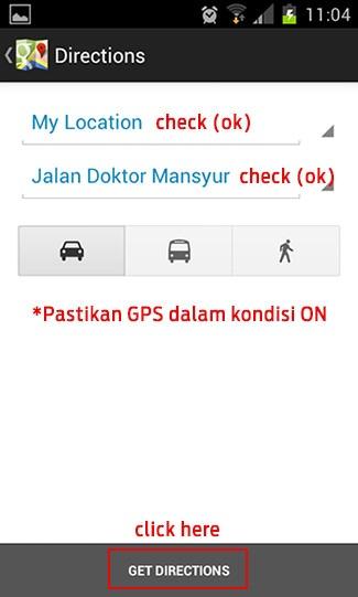 Cari tempat makan dengan Foursquare dan Google Maps 6