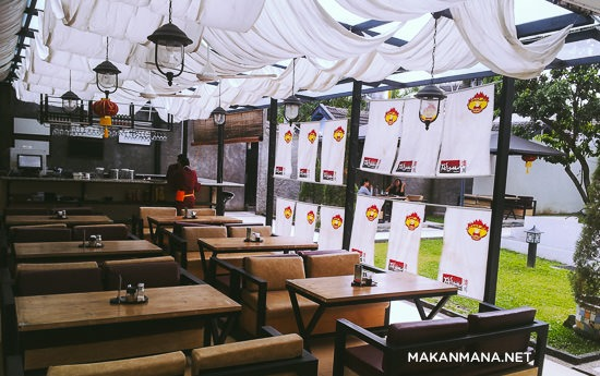 interior takigawa medan meat bar