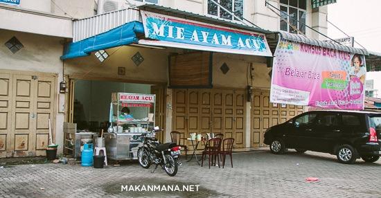 lokasi rumah makan mie ayam acu Mie Ayam Acu   Titi Kuning