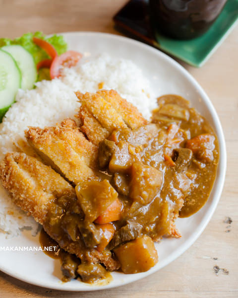 Takigawa Chicken Katsu Curry Rice