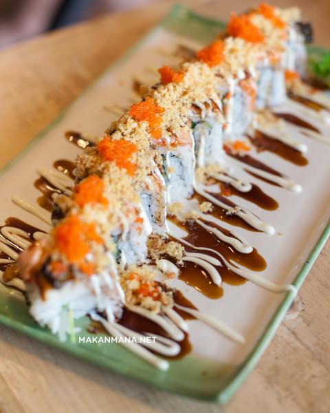 takigawa roll Takigawa Japanese Restaurant