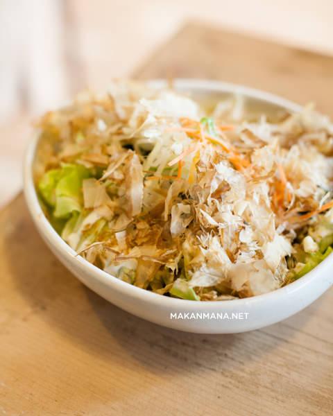 wakame salad Takigawa Japanese Restaurant