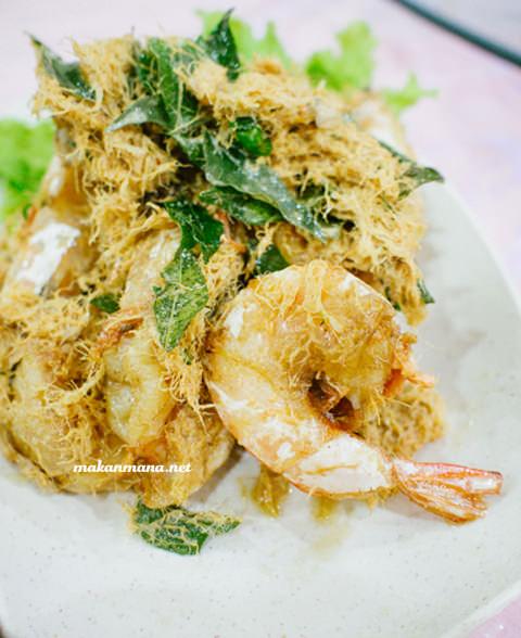udang mentega ala thai