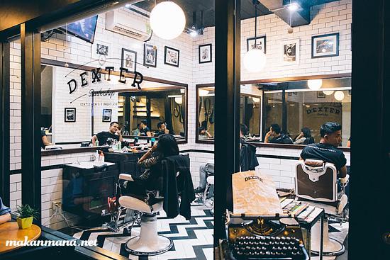 dexter barber shop medan