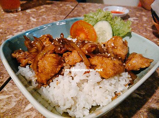 Nasi - Ayam Mentega
