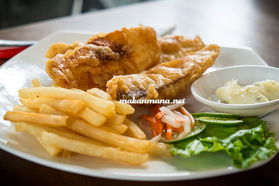 Makanmana new york cafe fish and chips