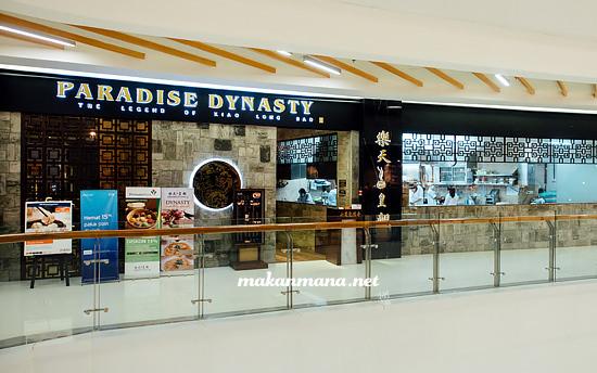 paradise dynasty centre point Paradise Dynasty, Centre Point Mall