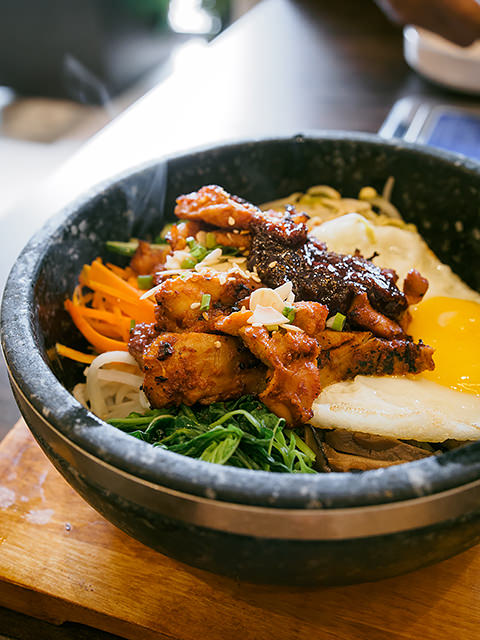 bibimbap Daebak Korean BBQ restaurant
