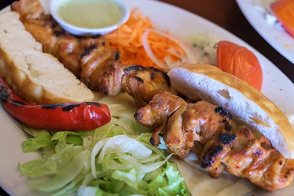 chicken satay kebab