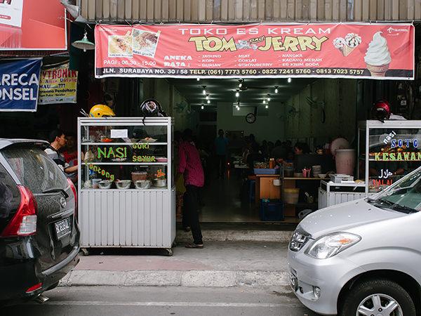 tom and jerry ice cream Nasi soto & Nasi gurih Tom & Jerry
