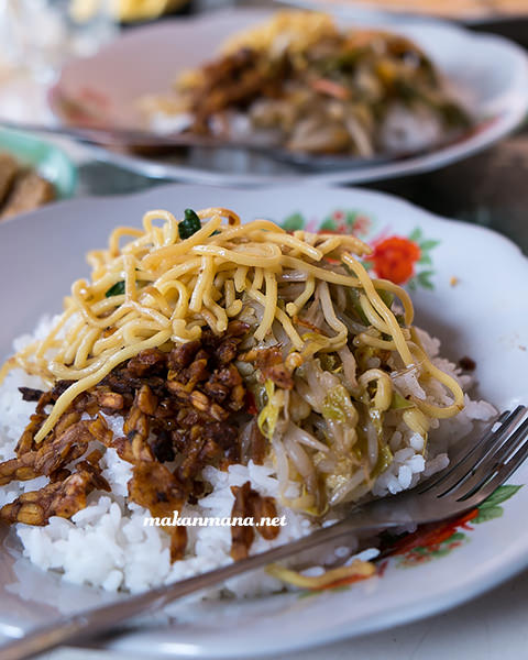 nasi sayur