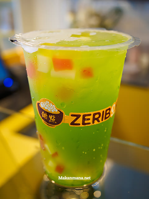 zeribowl kiwi drink