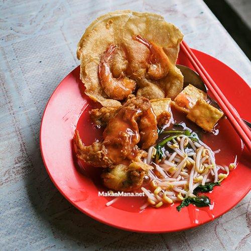 Tau Kua He Chi & Sate Kacang porky Gang Bakul, Sunggal 1