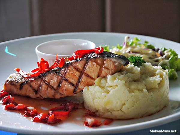 Salmon Steak Chapter One