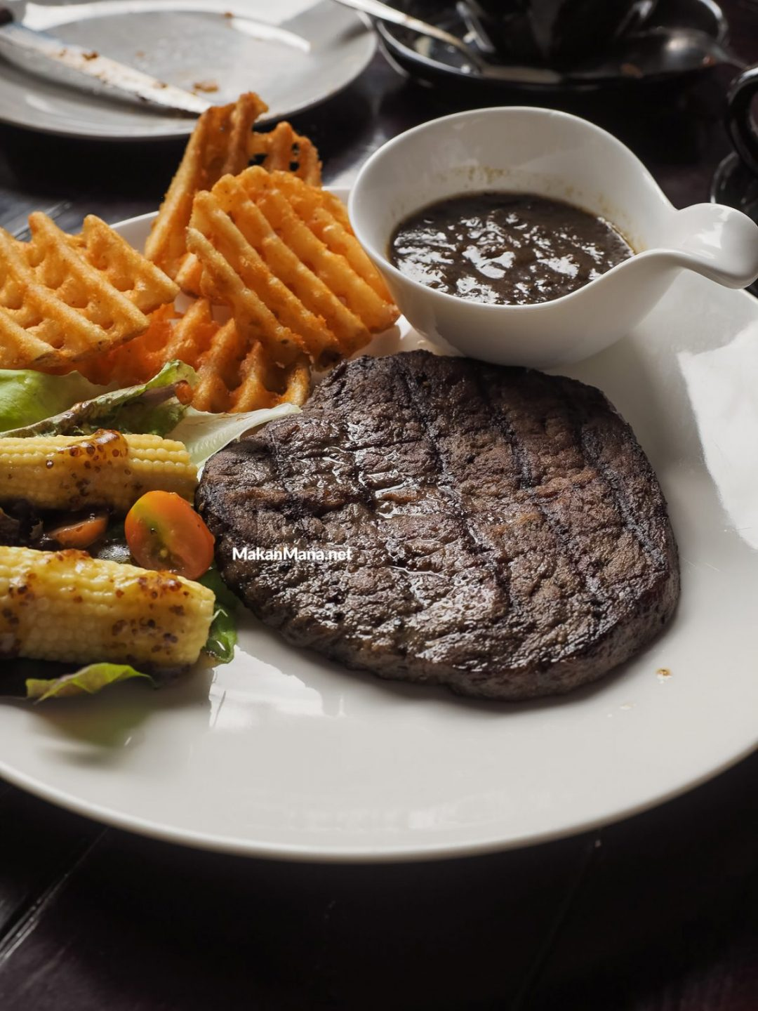 The Blue Cow Steak