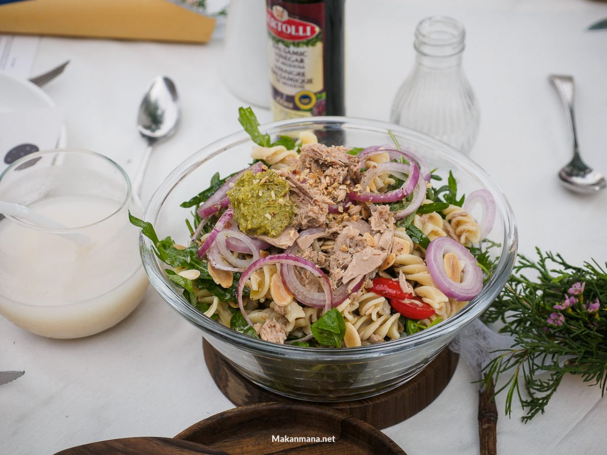 truffle series salad