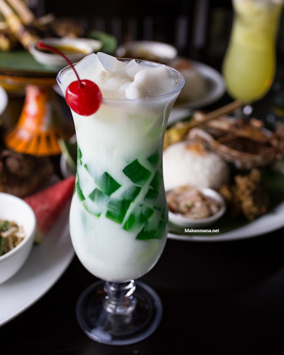 Coconut Pandan Jelly