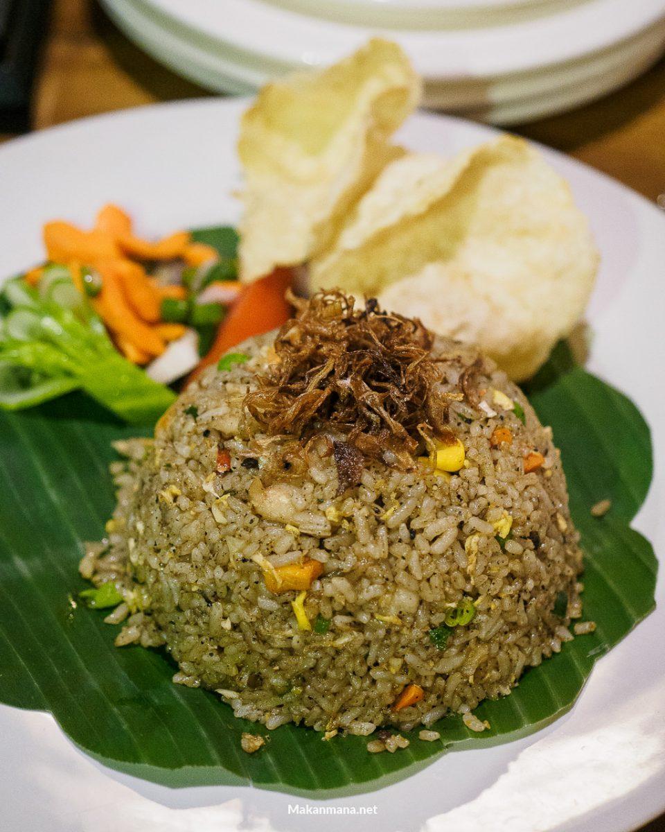 Nasi goreng seafood lada hitam