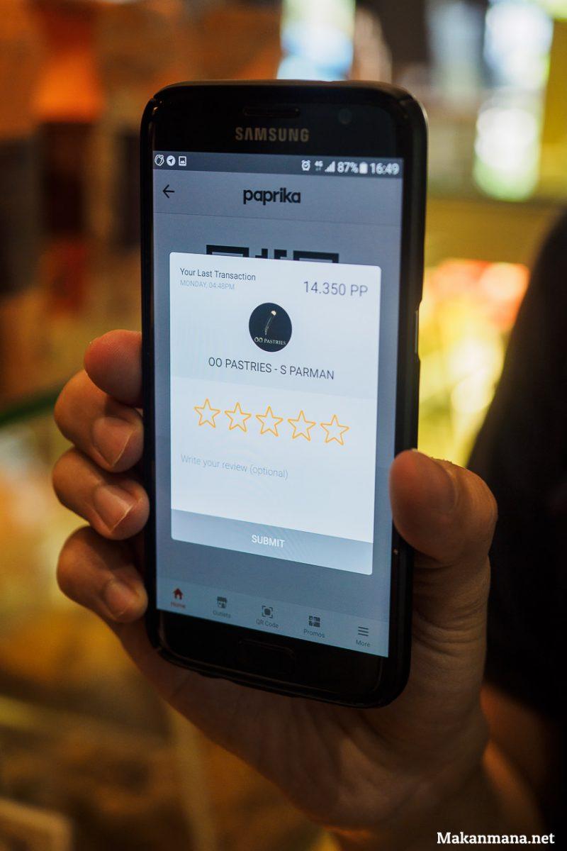 sistem kerja paprika app