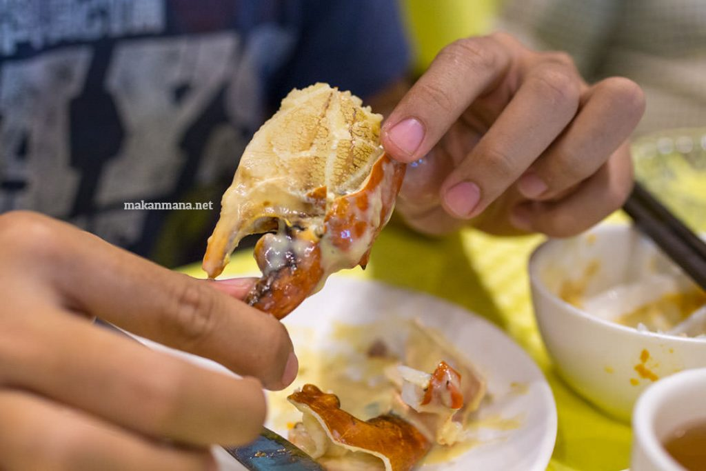 Seafood Sampling at Hee Lai Ton Medan 2