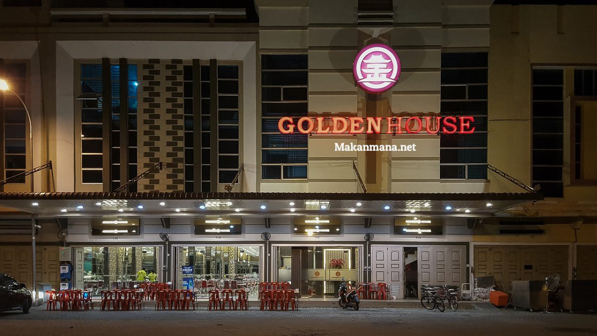 Golden House, a house where delicious food is served. 5