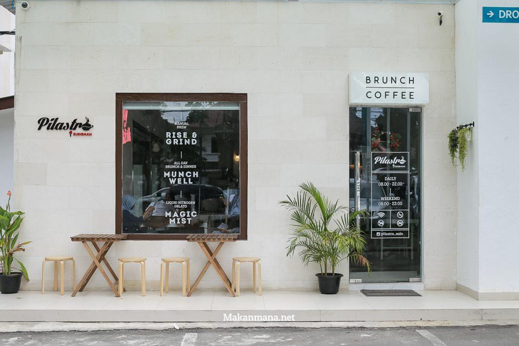 Banking over Coffee at Pilastro Sudirman 5