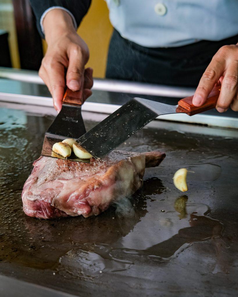 Dry-aged Beef dimasak