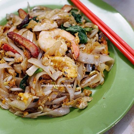 kwetiau beras rice koay teow pangkalan brandan