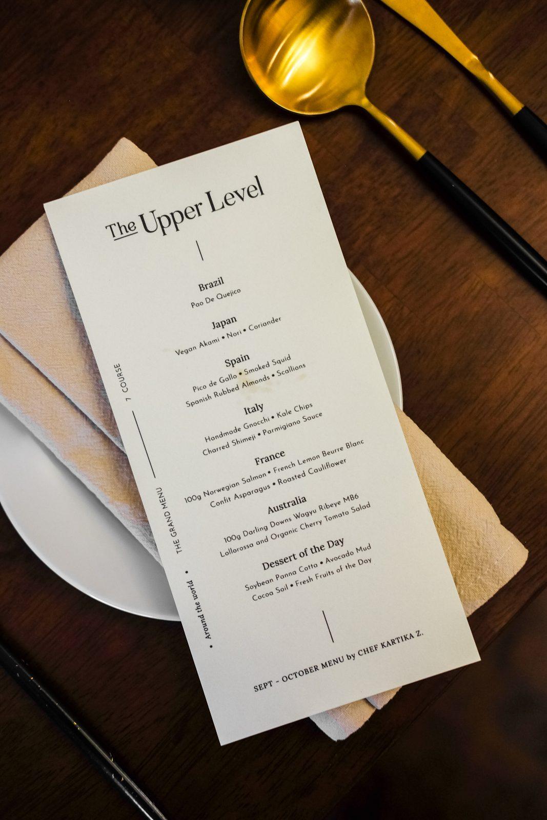 The Upper Level — Fine Dining di Medan, Serasa Dibawa Keliling Dunia 31