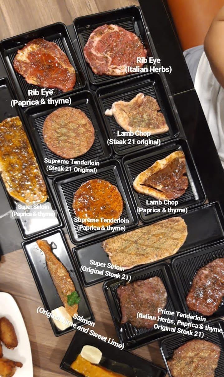 ALL YOU CAN EAT! Steak 21 Buffet di Deli Park Podomoro Medan 11