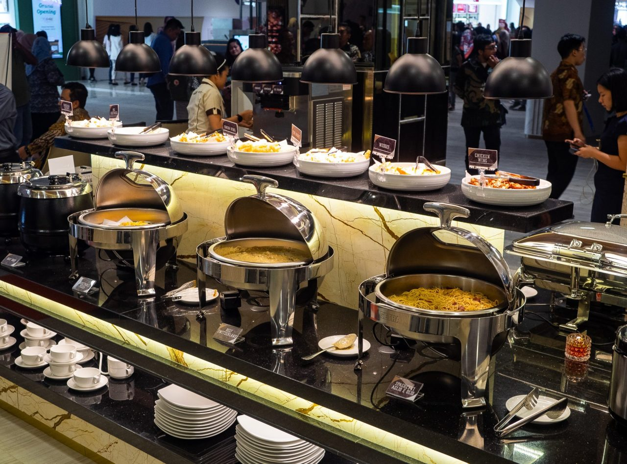 ALL YOU CAN EAT! Steak 21 Buffet di Deli Park Podomoro Medan 22
