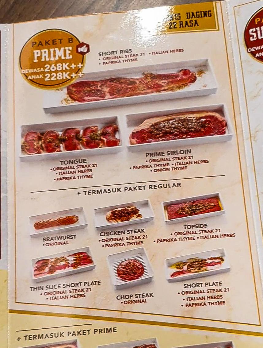 ALL YOU CAN EAT! Steak 21 Buffet di Deli Park Podomoro Medan 7